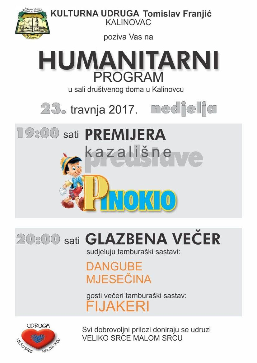 Plakat za humanitarni program